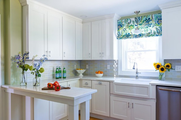 Transitional Kitchen by Designs By Gia Interior Design and Renovation