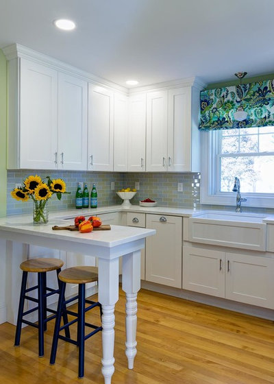 Traditional Kitchen by Designs By Gia Interior Design and Renovation