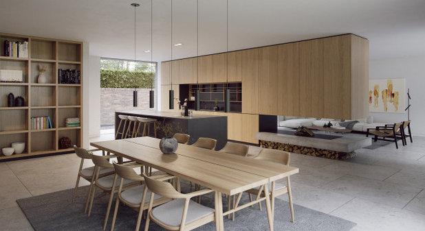 Modern Kitchen by Strom Architects