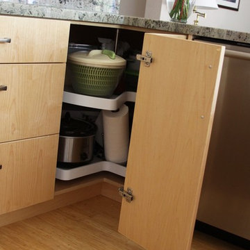 Lazy Susan Kitchen Remodel by Green Goods