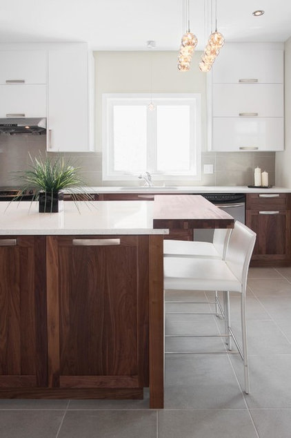 Contemporary Kitchen by SIGNÉGG