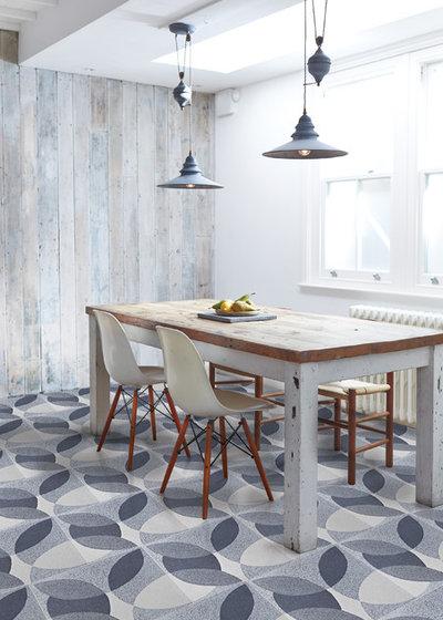 Industrial  Küche by Lindsey Lang Design Ltd