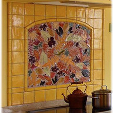 Eclectic Kitchen by Tiles with Style