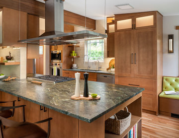 Leathered Granite Counter Top