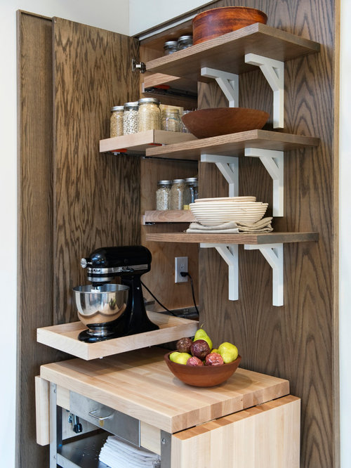 Pull-out Mixer Stand | Houzz