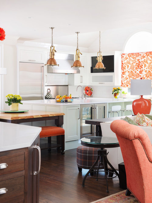 Leawood Colorful Kitchen