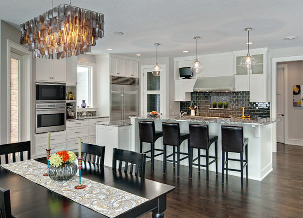 Contemporary Kitchen by Lecy Bros Homes & Remodeling