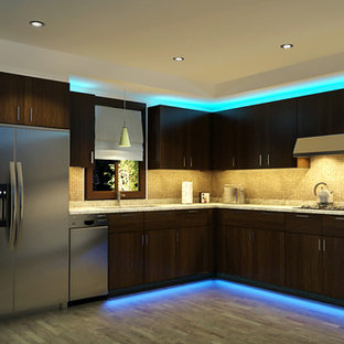 Recessed Kitchen Lighting Houzz
