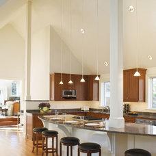 Contemporary Kitchen by Burgin Lambert Architects