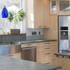 Contemporary Kitchen by Hot Apple Pine LLC