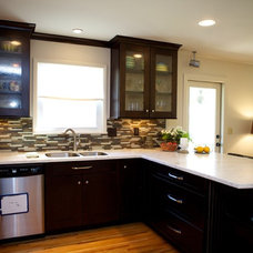 Contemporary Kitchen by Counter Dimensions
