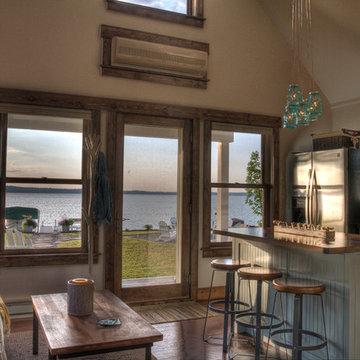 Leech Lake 2 Kitchen Lake View