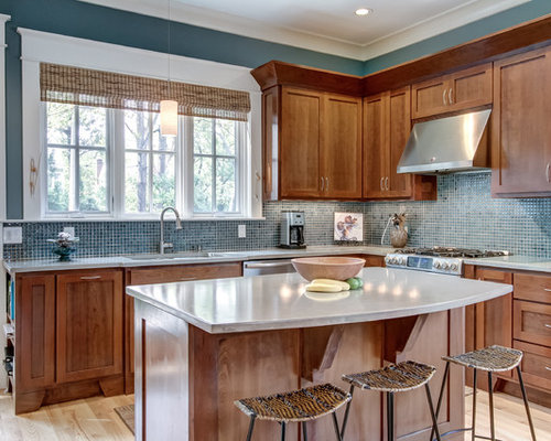 concrete cabinets kitchen sherwin williams moody blue houzz 2420