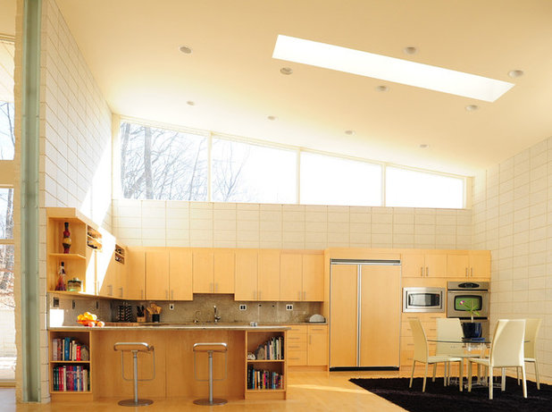 Moderne Cuisine by kimberly peck architect