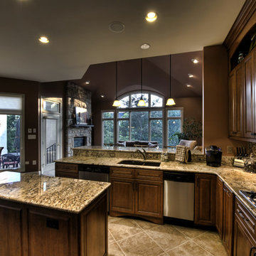 Leesburg Traditional Kitchen - View to Windows