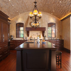 mediterranean kitchen by Visbeen Associates, Inc.