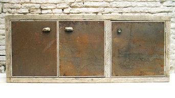 Legno e ruggine in cucina - Wood and rust in a kitchen