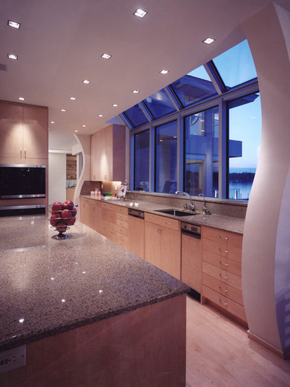 Contemporary Kitchen by kevin akey - azd architects - michigan