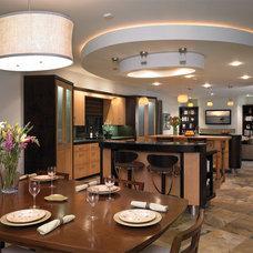 Eclectic Kitchen by HartmanBaldwin Design/Build