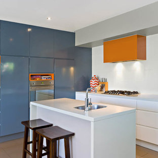 Inspiration for a contemporary kitchen in Sydney.