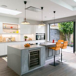 Leicht by Vogue Kitchens - West London Contemporary Open Plan Kitchen