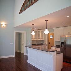 Craftsman Kitchen by Bradley Wheeler Architecture & Construction, Inc.