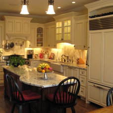 Traditional Kitchen by The Cabinet Lady, Inc.