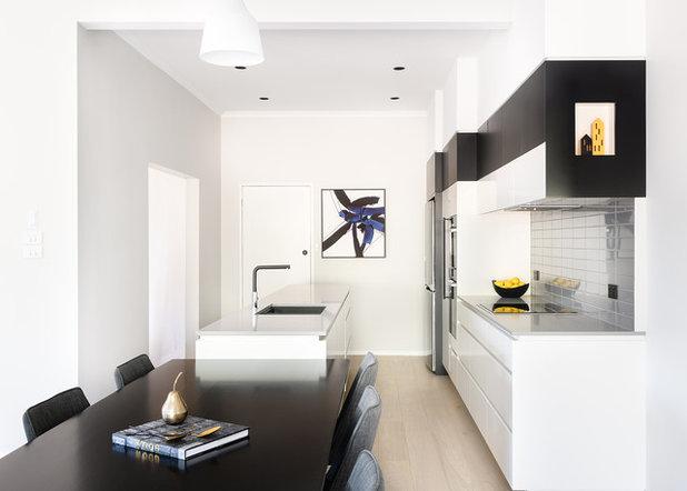 Contemporary Kitchen by Valentine interiors + design