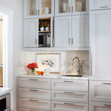 Transitional Kitchen by TerraCotta Properties