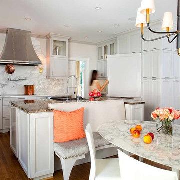 Lenox Kitchen & Family Room Renovation