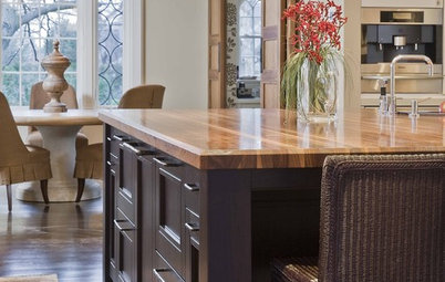 Cool Countertops: Wood and Stainless