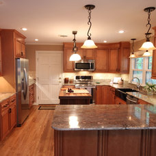 Traditional Kitchen by Leo Lantz Construction, Inc.
