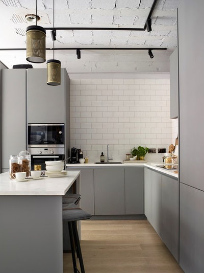 Contemporary Kitchen by Alex Hall Furniture