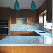 Contemporary Kitchen by Clean Slate Design Inc.