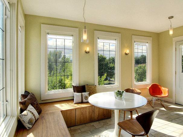 Eclectic Kitchen by Zinc Art + Interiors