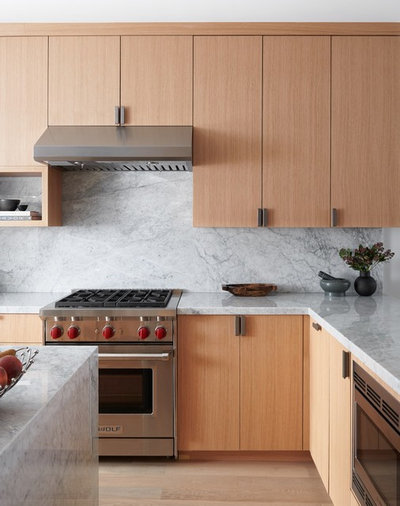 Contemporary Kitchen by BZ Interiors