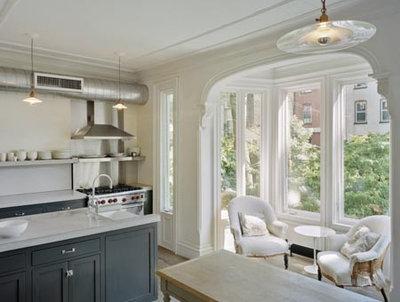 Traditional Kitchen by Ken Levenson Architect P.C.