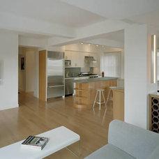 Contemporary Kitchen by Ken Levenson Architect P.C.