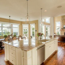 Transitional Kitchen by The Cabinet Shoppe