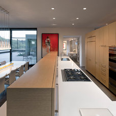 Modern Kitchen by Ibarra Rosano Design Architects