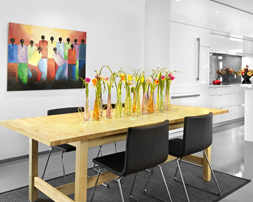 Modern Dining Table Centerpiece | Houzz