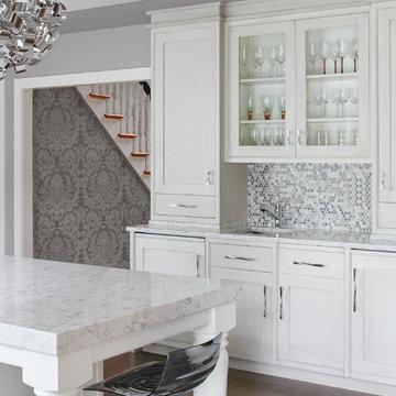 LG Viatera Rococo Quartz Kitchen