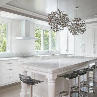 Transitional kitchen appliance - Kitchen - transitional kitchen idea in Boston