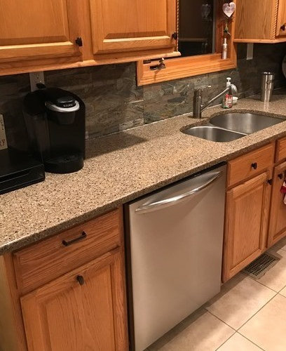 and countertops teak installed shop wood countertop installation marble granite quartz
