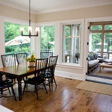Farmhouse Kitchen by Burke Coffey Architecture Design Inc.