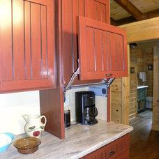 Farmhouse Kitchen by Waldmann Construction