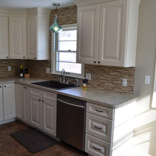 Transitional Kitchen by Julie Westerfield of       McDaniels Sales Company
