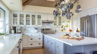 Light and Airy Whidbey Kitchen