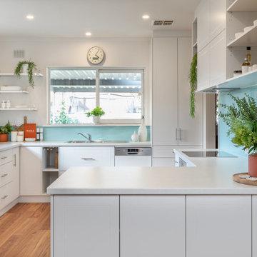 Light and Bright Kitchen Transformation