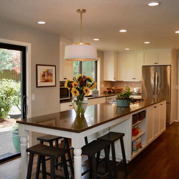 Light and Bright- New Kitchen & Laundry